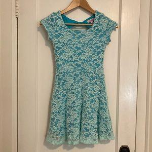 Size 12 light blue summer dress
